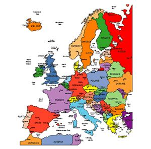 Map Of Europe With Names by Europe Regional Powerpoint Map Countries Names Maps