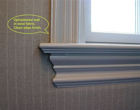 wall upholstery track systems fabric wall track system
