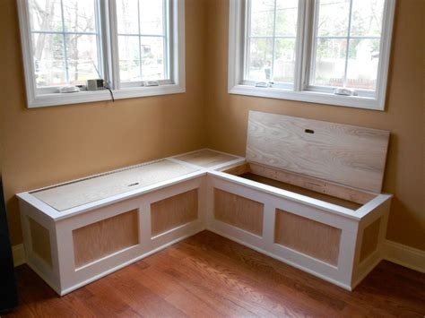 kitchen bench seating breakfast nook seating dining room traditional with