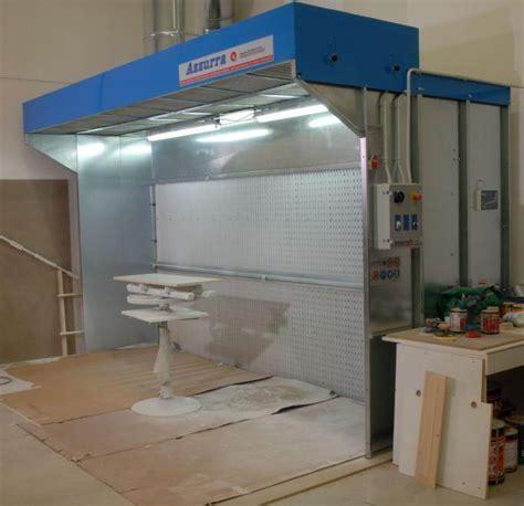 cabina verniciatura a secco cabina di verniciatura a secco mod cs tecno azzurra
