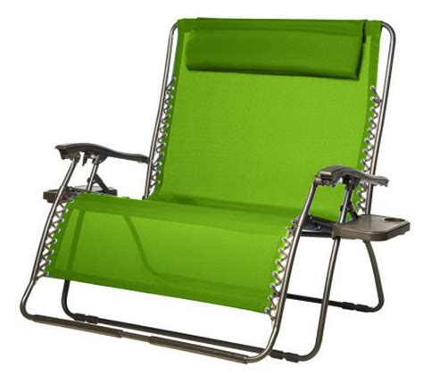 two person recliner chair bliss hammocks 2 person gravity free recliner with pillow