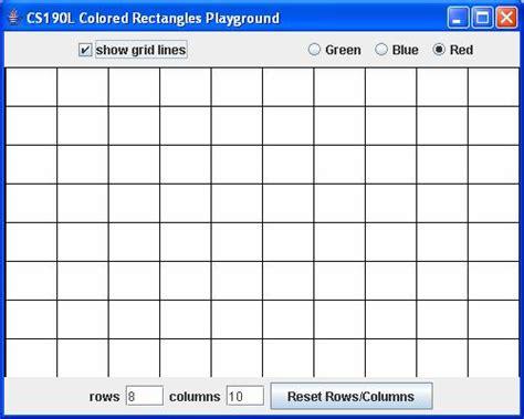 qt grid layout set number of rows cse190l handout 14