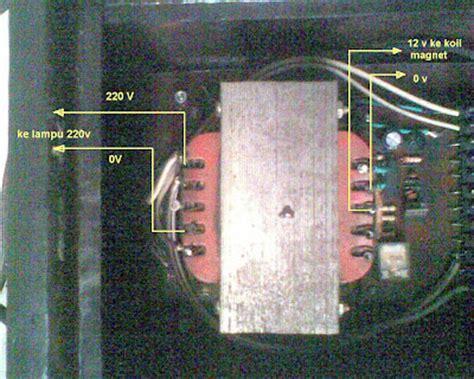 Sebuah Teko Listrik 400 Watt 220 Volt rote pintar buat generator dari sepeda motor
