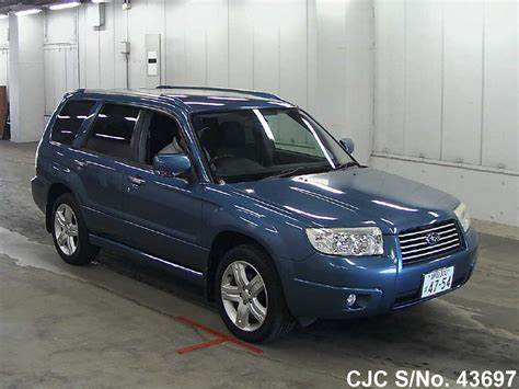 2007 subaru forester type 2007 subaru forester blue for sale stock no 43697