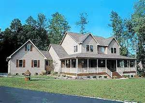 Country House Plans With Porch Country Home Plan With Marvelous Porches