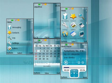 theme creator nokia s40 aqua nokia s40 3rd theme by aquafeya on deviantart