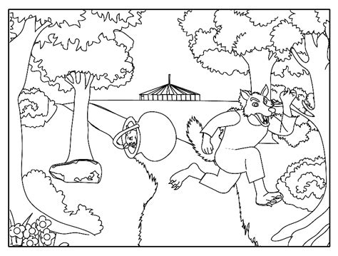 Zoetoys 3d Book Three Pig pigs coloring pages az coloring pages