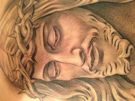 jesus piece tattoo tattooflashbooks studio design gallery best design