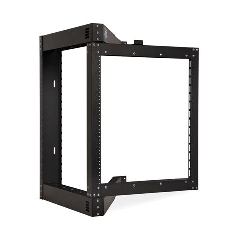 swing out wall mount rack open frame wall mount racks