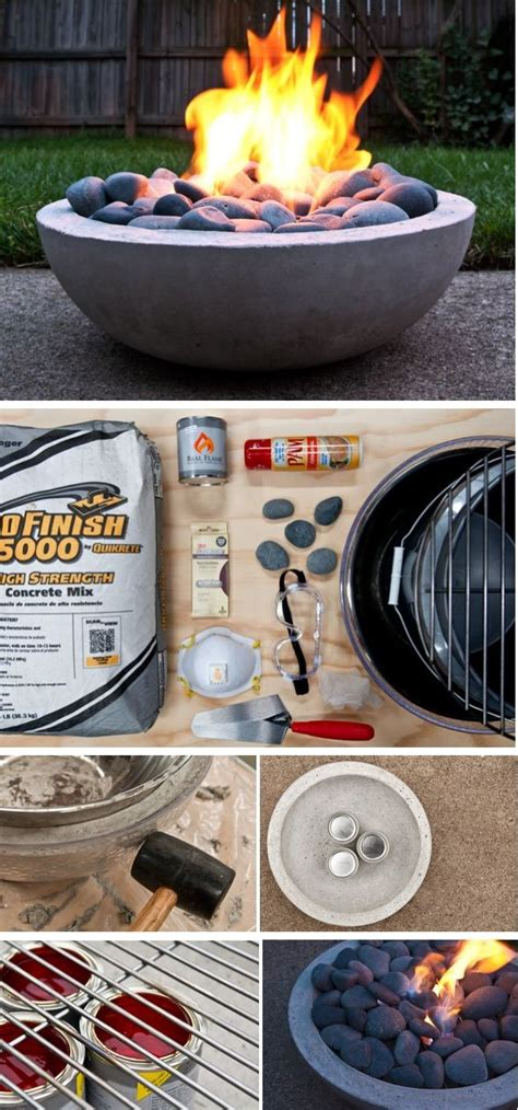 Diy Gel Fuel Pit 25 best ideas about concrete pits on