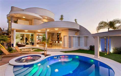 Mediteranean House Plans by Telhado Embutido 60 Modelos E Projetos De Casas