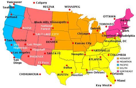 map usa major cities passenger vehicles in united states of america wikibizpedia
