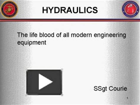 hydraulic tutorial powerpoint ppt hydraulics powerpoint presentation free to view