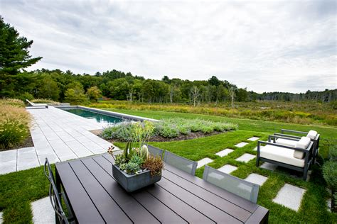 Contemporary Landscape In Andover Northshore Home M And M Landscaping