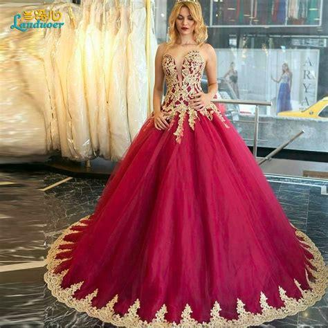 fashion ball gown fushia prom dresses  arabic party