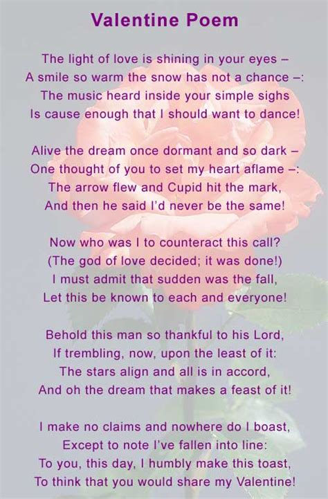 valentines rhyme spirits in peace richard doiron poem the
