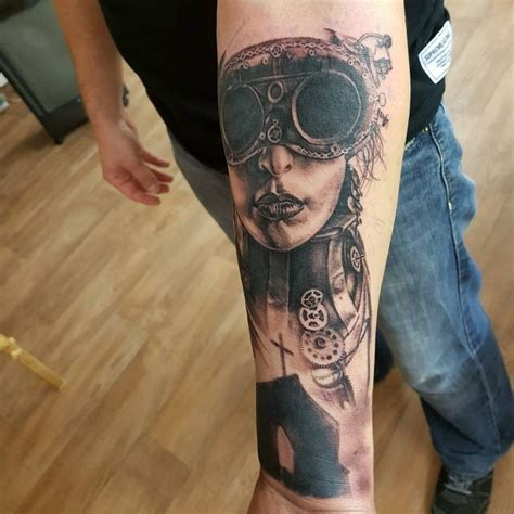 100 fantastic steampunk tattoo designs the steamy