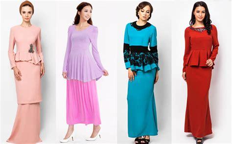 fesyen yang baju raya pada butik 2013 peplum pilihan terkini baju raya astro awani