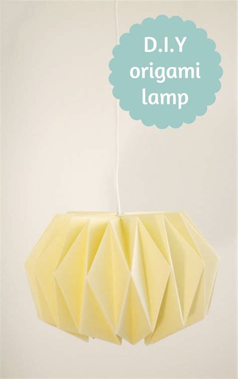 How To Make An Origami Lantern - origami origami l and diy origami on
