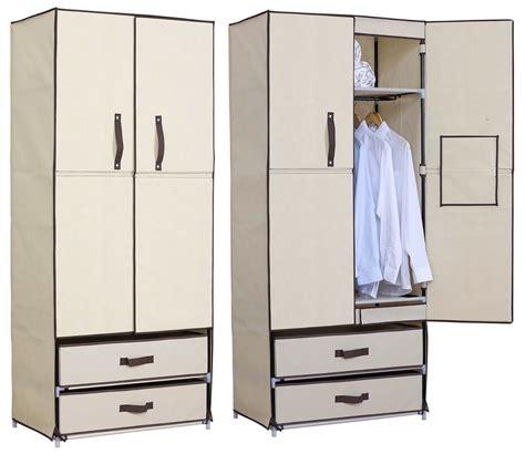 Ikea Kleiderschrank Stoff by Woltu Stoff Textil Kleiderschrank Stoffkleiderschrank