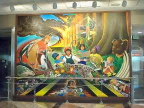 Denver Airport Wall Murals denver airport murals denver colorado denver airport denver colorado