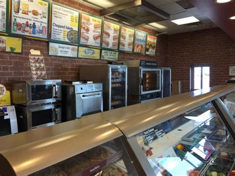 Order Counter Order Counter Picture Of Subway Gila Bend Tripadvisor