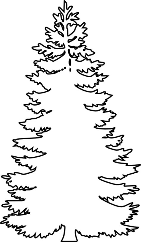pine tree template free pine tree outline search results calendar 2015