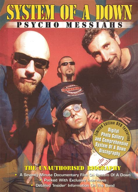 genre film gie system of a down psycho messiahs the unauthorized
