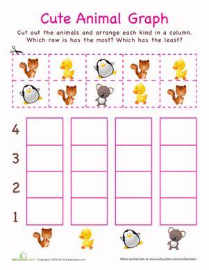 kindergarten graphs printable worksheets make a bar graph worksheet education com