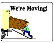 we moved cards free templates free printable moving announcement cards