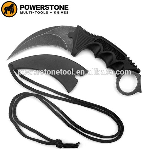 plastic tactical knife karambit knife tactical knife with plastic handle and