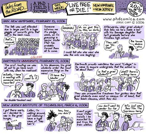 phd comics advisor field phd comics field journal new hshire and njit