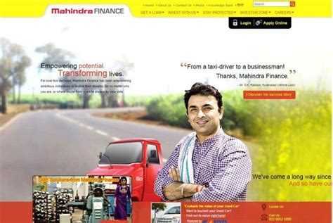 car loan mahindra finance mahindra mahindra financial services q4 profit up 12 to