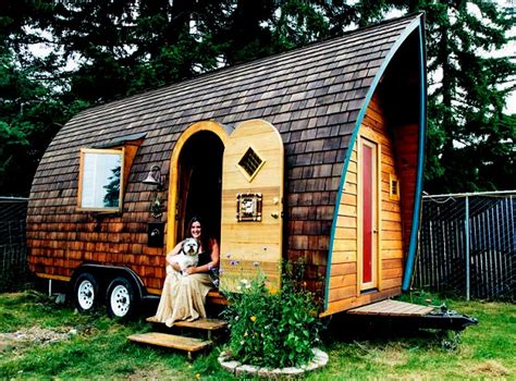 small house on wheels design tiny house plans on wheels of wood or a modern design and make you feel free and