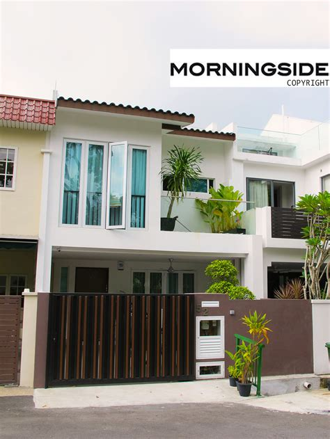House Design And Construction Professional by Terrace House Semi D Design And Build