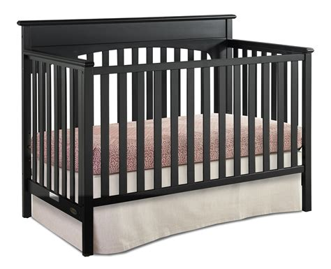 black 4 in 1 convertible crib graco 4 in 1 convertible crib black