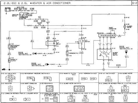 car air conditioner compressor wiring diagram circuit