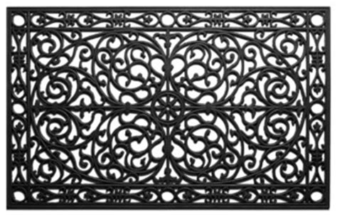 traditional rubber st gatsby rubber doormat 2 6x4 traditional doormats by