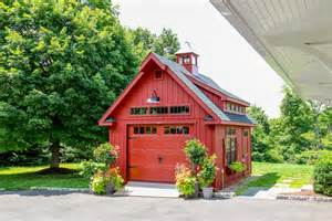 Cape Style House by Grand Victorian Single Bay Garage Photos The Barn Yard
