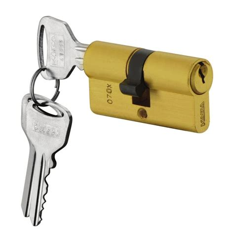 profile cylinder both side key