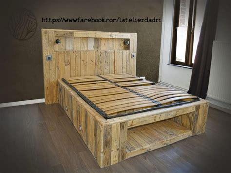lit palettes lit en palette lumineux avec lit lit palette best of lit