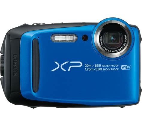 fuji compact fujifilm xp120 tough compact blue deals pc world