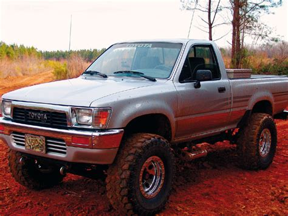 Toyota 91 4x4 1991 Toyota Vin Jt4vn13d5m5070100