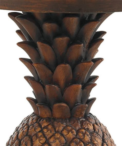 pineapple table base top  tommy bahama outdoor home