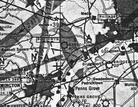 washington sectional chart abandoned little known airfields pennsylvania delaware