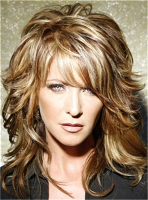 messy short layers on lower length layered messy wavy mid length human hair capless wigs 14