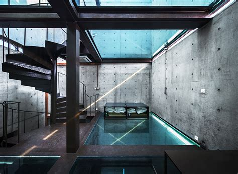 Glass Floor House by Concrete Tower House With See Through Floors Modern
