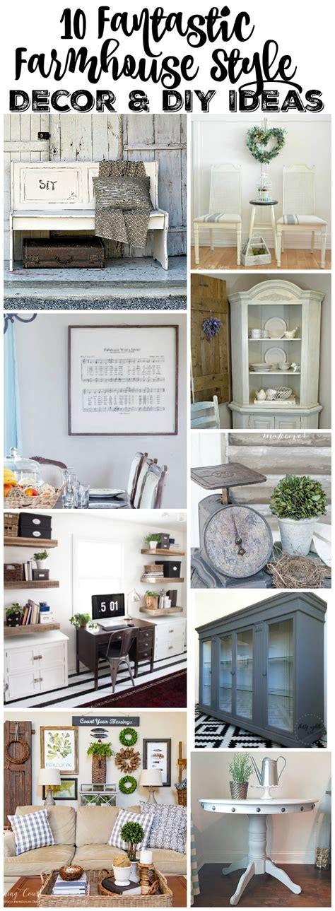 my home decor style 10 farmhouse style decor diy ideas place of my taste