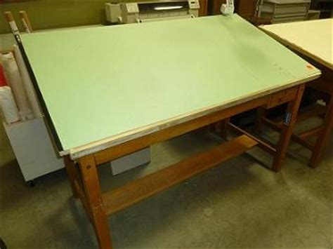 Used Drafting Tables Hopper S Drafting Furniture Mayline Oak Drafting Table