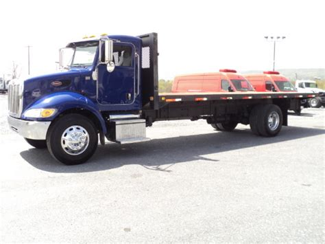 flat bed for sale peterbilt flatbed truck for sale 9540